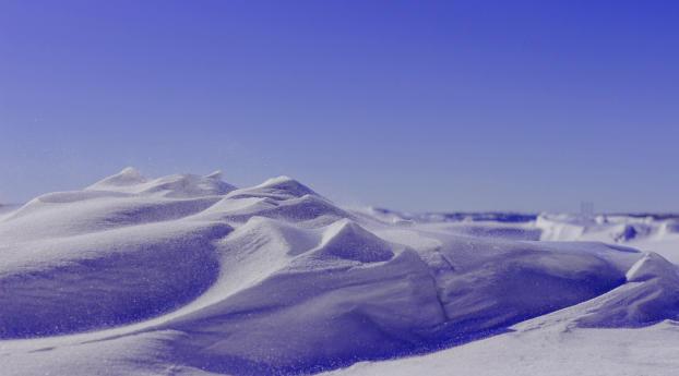 HD Wallpaper | Background Image Ice Desert