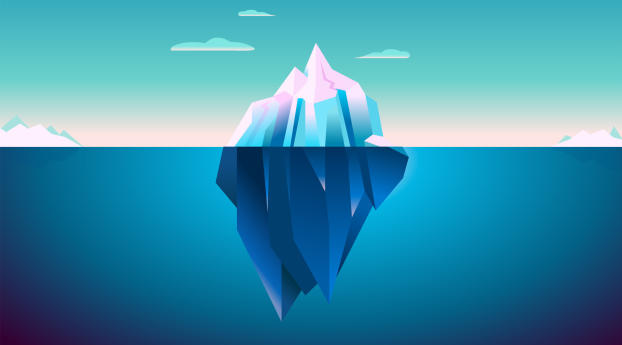 1440x2960 Iceberg Minimal Samsung Galaxy Note 9 8 S9 S8 S8 Qhd Wallpaper Hd Minimalist 4k Wallpapers Images Photos And Background