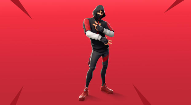 HD Wallpaper | Background Image Ikonik Fortnite 4K