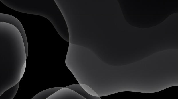 HD Wallpaper | Background Image iOS 13 Black Dark