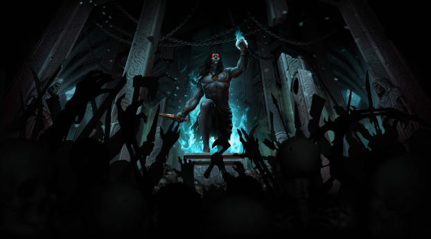 HD Wallpaper | Background Image Iratus Lord of the Dead Game