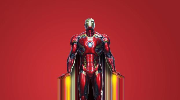 480x854 Iron Man Avengers Endgame Art Android One Mobile