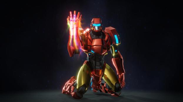 HD Wallpaper | Background Image Iron Man Snap Art