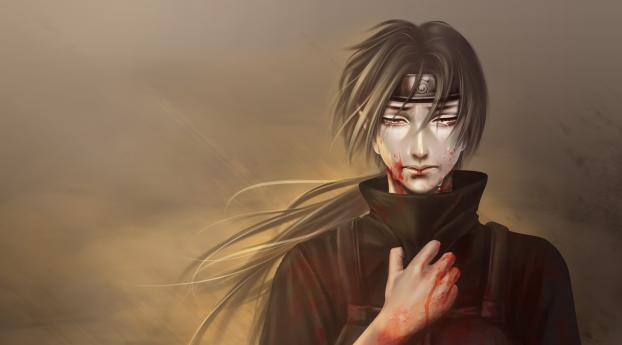 1336x768 Itachi Uchiha 2019 Art Hd Laptop Wallpaper Hd Anime 4k Wallpapers Images Photos And Background