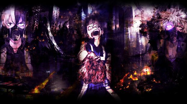 1280x2120 Izuku Midoriya Anime Art Iphone 6 Plus Wallpaper