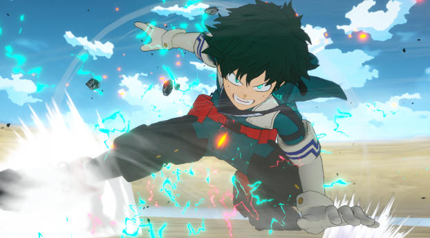 HD Wallpaper | Background Image Izuku Midoriya Anime