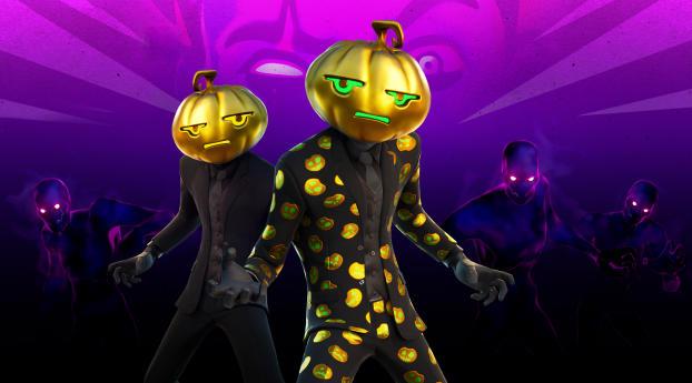 Jack Gourdon Outfit Fortnite Halloween Wallpaper