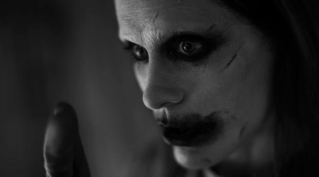 Jared Leto as Joker in Justice League Wallpaper