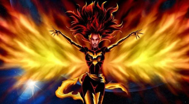 HD Wallpaper | Background Image Jean Gray In Dark Phoenix Comic