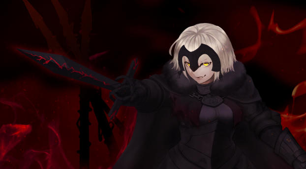 HD Wallpaper | Background Image Jeanne d'Arc Alter Avenger (Fate/Grand Order)