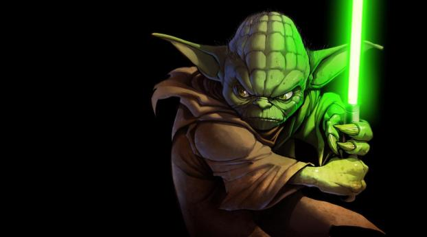 Jedi Yoda Wallpaper 480x484 Resolution
