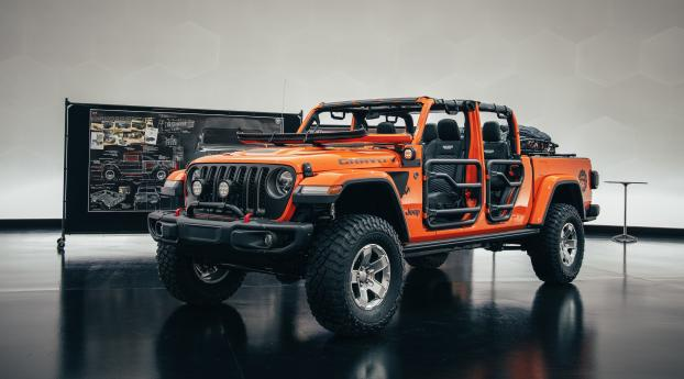 HD Wallpaper | Background Image Jeep Gladiator Gravity