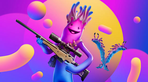 HD Wallpaper | Background Image Jellie Outfit Fortnite