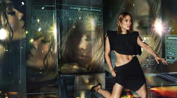 HD Wallpaper | Background Image Jennifer Lopez 8K