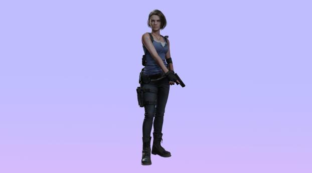 HD Wallpaper | Background Image Jill Valentine Resident Evil 3 Remake 4K