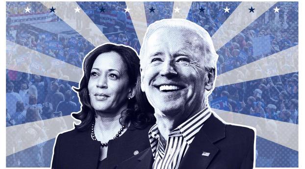 Joe Biden and Kamala Harris Wallpaper 2560x1080 Resolution