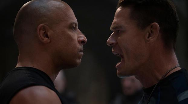 John Cena vs Vin Diesel Fast 9 Wallpaper