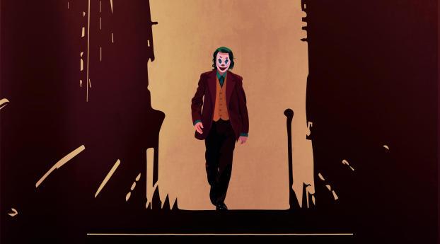 Joker Cool 2020 Wallpaper 320x568 Resolution