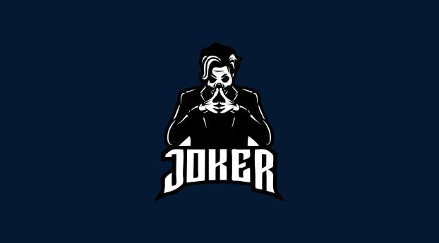 Joker Cool Minimal 4K Art 2021 Wallpaper