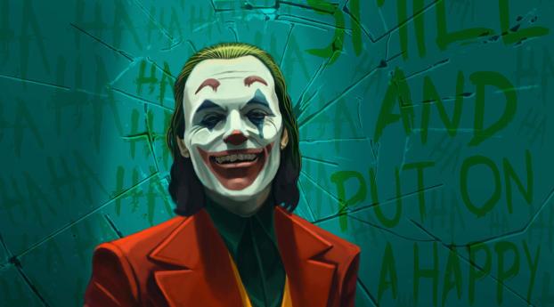 HD Wallpaper   Background Image Joker Hahaha