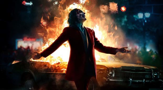 Joker IMAX Poster Wallpaper