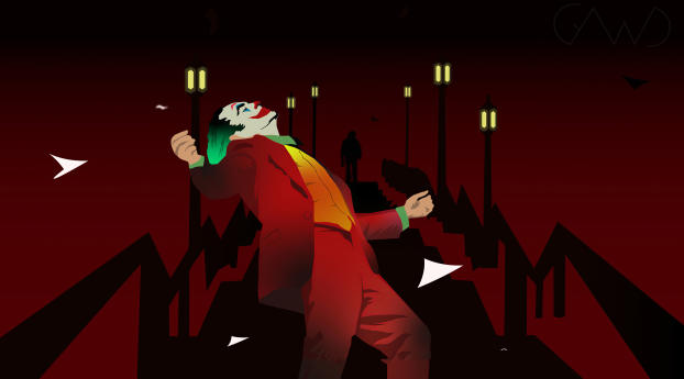 HD Wallpaper | Background Image Joker Minimal Dance