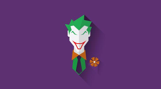 HD Wallpaper | Background Image Joker Minimal
