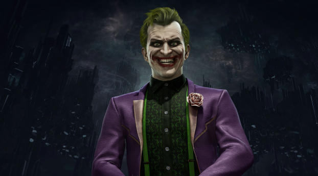 HD Wallpaper | Background Image Joker Mortal Kombat 11