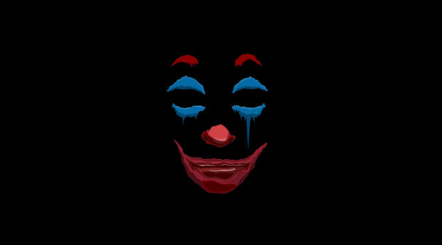 HD Wallpaper   Background Image Joker Movie Minimalist