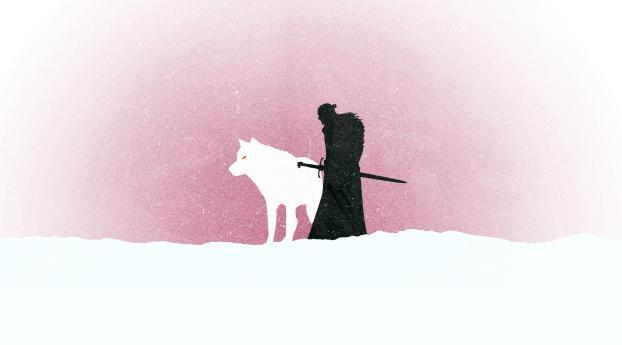 Jon Snow Game Of Thrones Minimalism Wallpaper, HD Movies ...