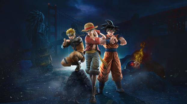 HD Wallpaper | Background Image Jump Force 2019
