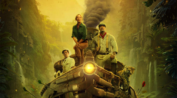 HD Wallpaper | Background Image Jungle Cruise