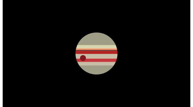 HD Wallpaper | Background Image Jupiter Minimalist