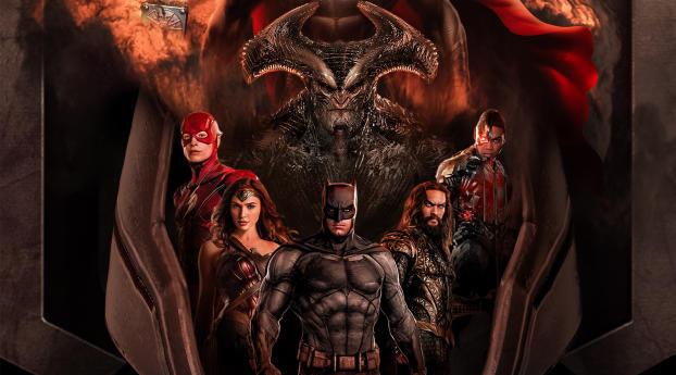 Justice League Synder Cut Fan Key Art Wallpaper 2160x3840 Resolution