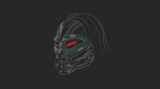 Kabal Mortal Kombat 11 Minimal Wallpaper