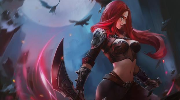 HD Wallpaper | Background Image Katarina in League of Legends