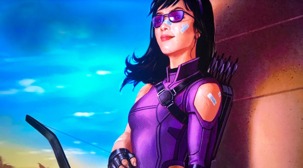 HD Wallpaper | Background Image Kate Bishop Hawkeye Art