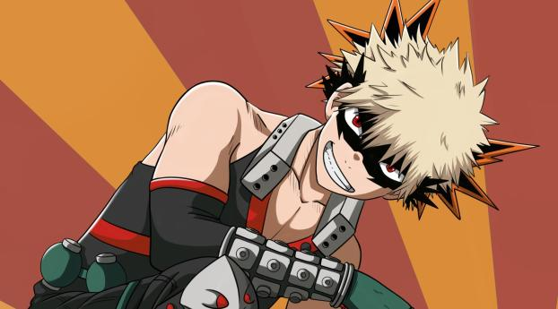HD Wallpaper | Background Image Katsuki Bakugou From My Hero Academia