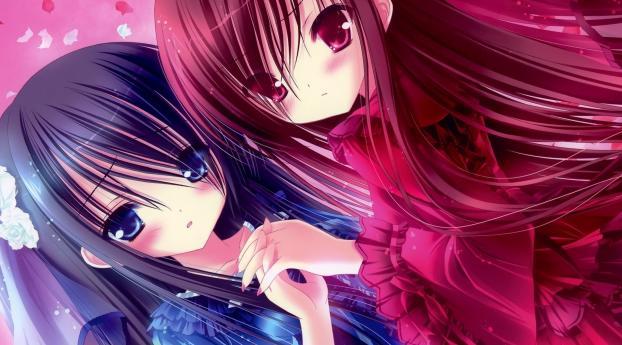 kawaii, anime, girl Wallpaper