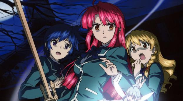 HD Wallpaper | Background Image Kaze No Stigma Girls Anime