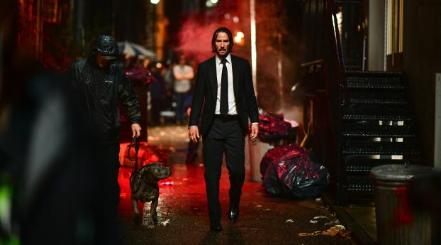 HD Wallpaper | Background Image Keanu Reeves John Wick 3 Parabellum