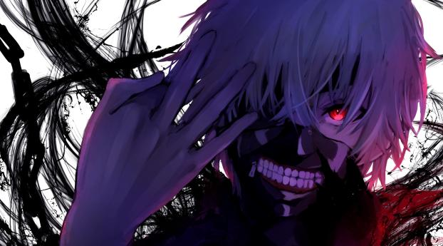 HD Wallpaper | Background Image Ken Kaneki Art
