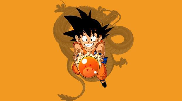 2932x2932 Kid Goku Dragon Ball Z Ipad Pro Retina Display