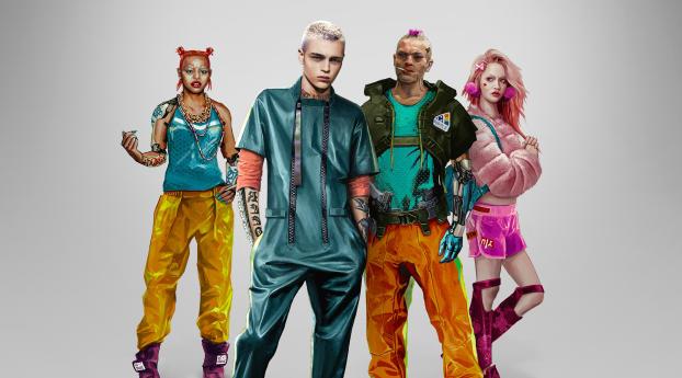 HD Wallpaper   Background Image Kitsch Style Cyberpunk 2077