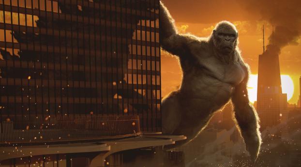 Kong Vs Godzilla 2020 Art Wallpaper