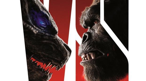 Kong vs Godzilla Poster Wallpaper