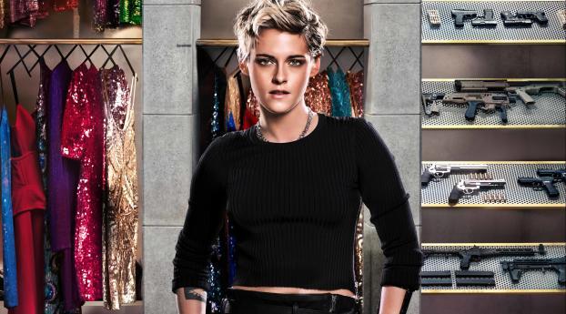 HD Wallpaper | Background Image Kristen Stewart In Charlies Angels Movie 4K