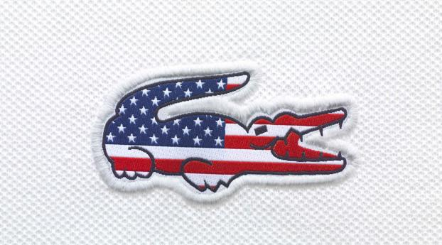 HD Wallpaper | Background Image lacoste, us, flag