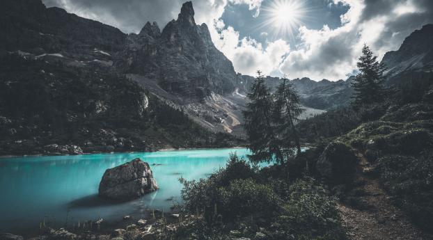 2560x1440 Lake Portrait 1440p Resolution Wallpaper Hd