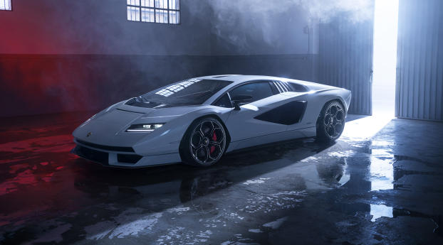 Lamborghini Countach LPI 800-4 4k Wallpaper